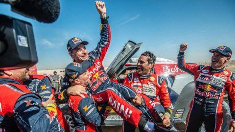 Carlos Sainz, tricampeón a los 57 años