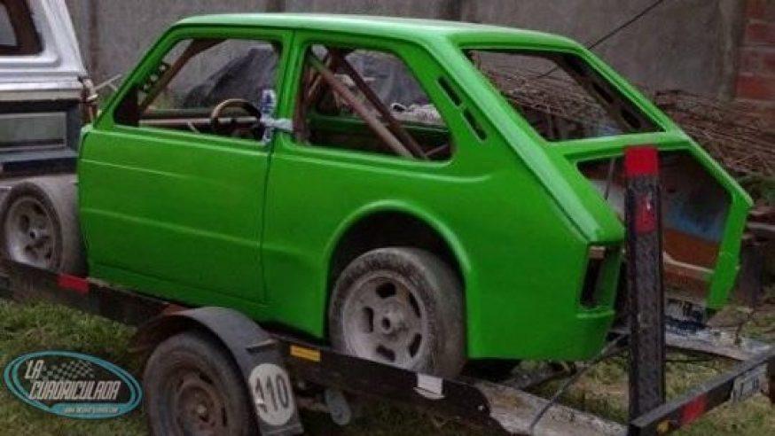 Un Fiat 133 en la Promo 850