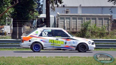 Abad Racing probó con Patricio Pierobón