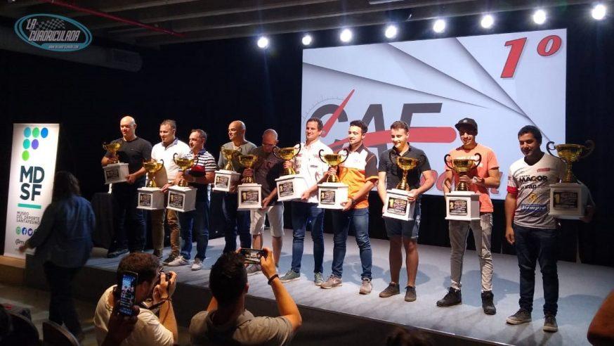 Los campeones, premiados y agasajados