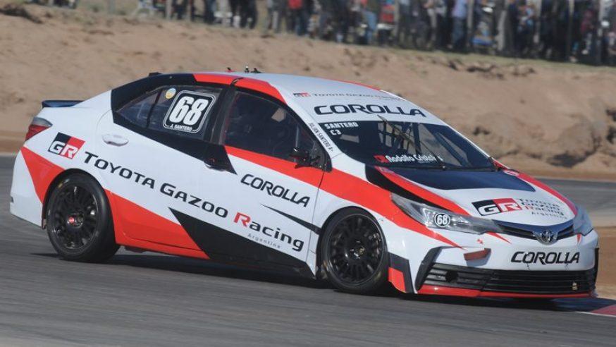 Julián Santero y Toyota en la pole