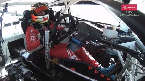 Mariano Werner y pole con equipo nuevo