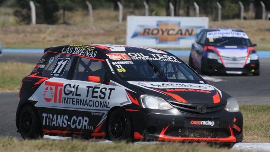Juan Benedetti cerró con podio en el Cabalén