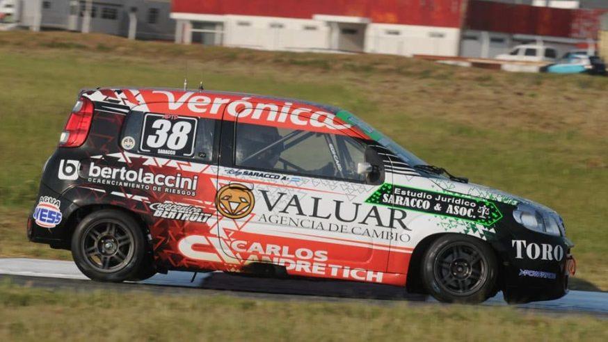 Ricardo Saracco logró sus primeros puntos