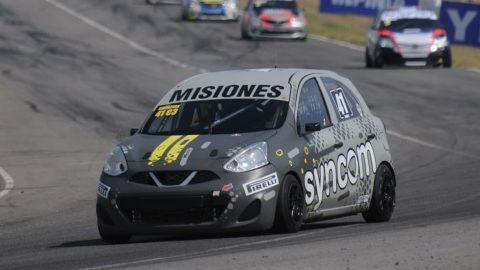 Rudi Bundziak fue protagonista con el Nissan March
