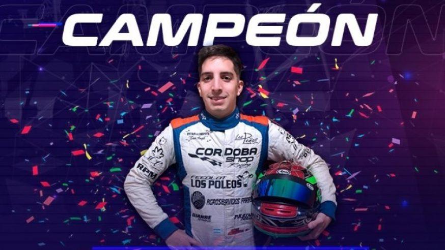 Nicolás Herrera, primer campeón virtual