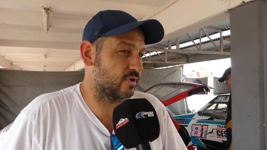 Mauro Cravero y el pase del rally a la pista