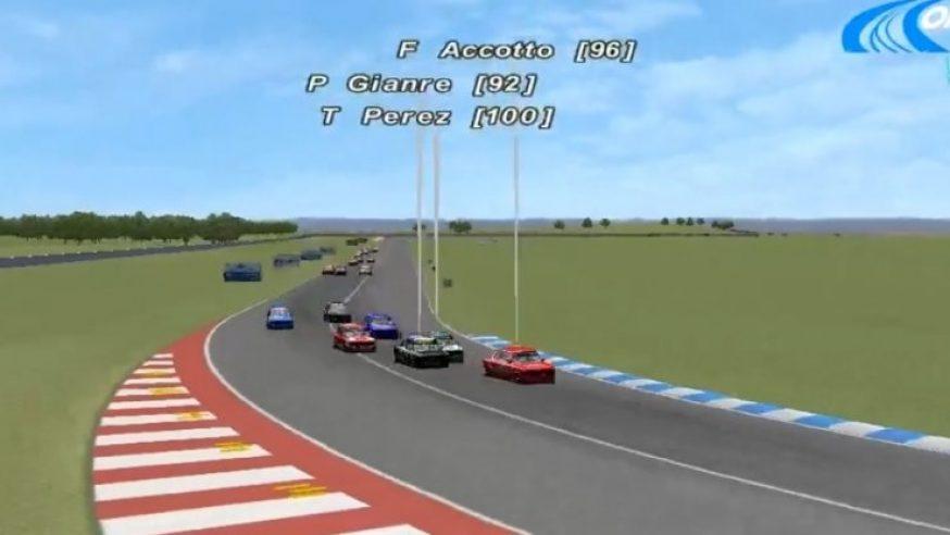Accotto y Magnante ganaron en Clase 1 Virtual