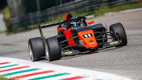 Franco Colapinto ganó en Monza