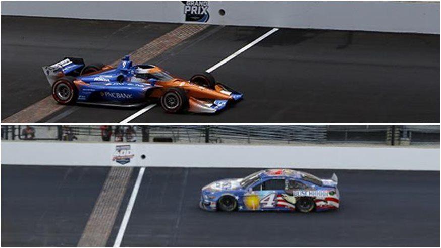 IndyCar y NASCAR unieron pasiones