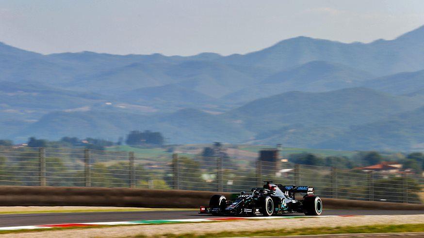 Lewis Hamilton ganó accidentado GP en Mugello