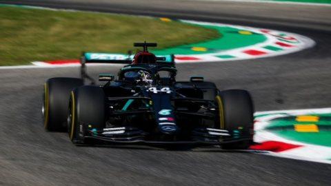 Las restricciones no frenaron a Mercedes