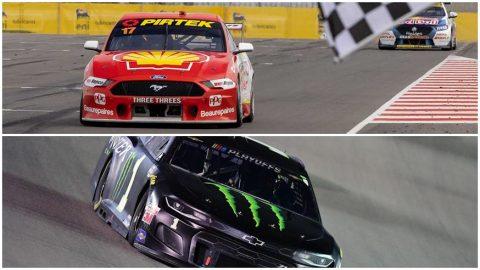 Ford y Chevrolet, en festejos opuestos