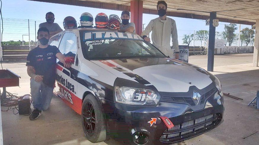 Bucci Racing probó en Marcos Juárez