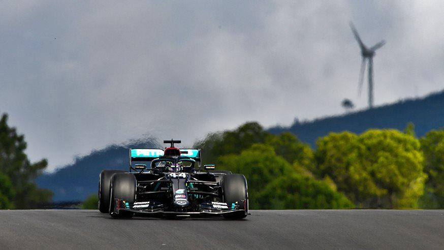 Lewis Hamilton, poleman sobre el cierre