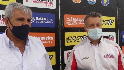 El vicegobernador jujeño visitó al Córdoba Pista
