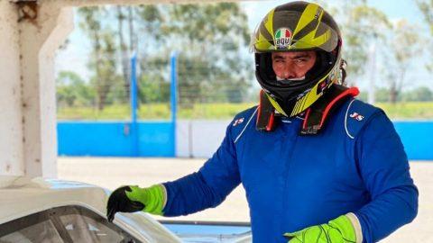 Germán Zafra volvió a manejar un TC 4000
