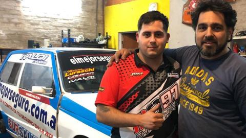 Julián Coria se suma con un Fiat Uno