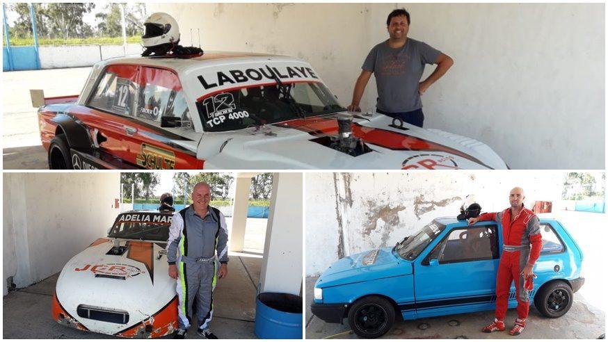 Forcheri, Carreño y Marioni probaron en Río Cuarto
