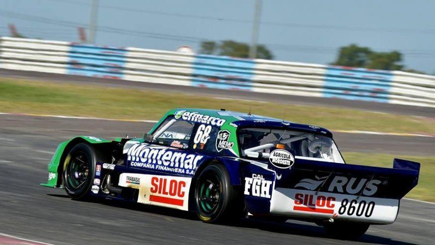Julián Santero y su primera pole en TC