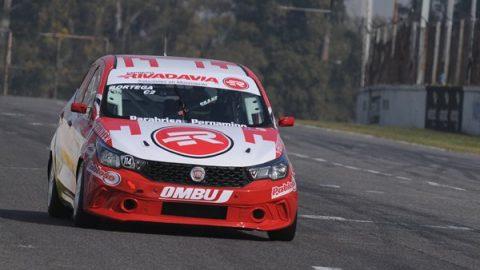 Pablo Ortega logró la pole con el Fiat