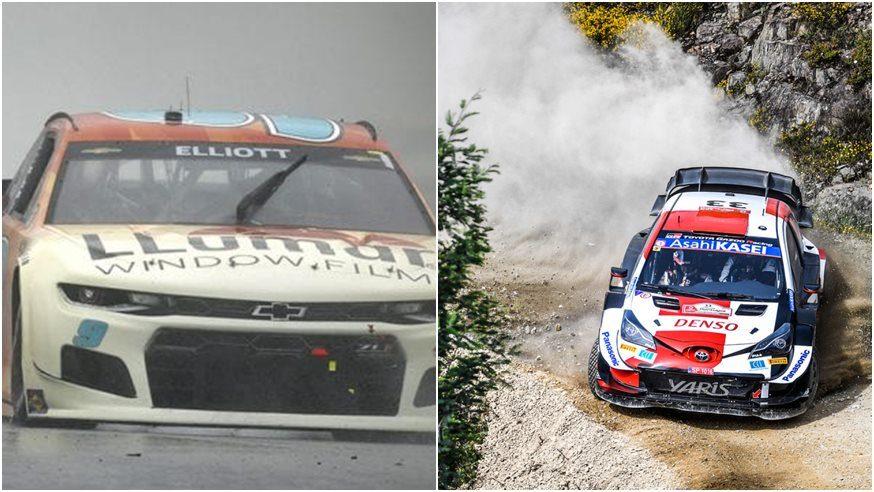 WRC y NASCAR completaron el domingo