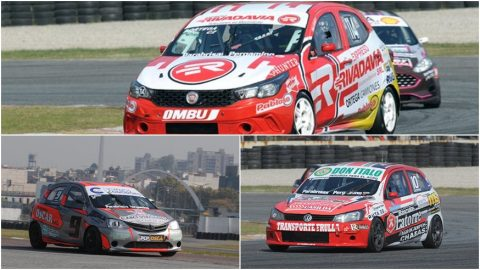 Fiat, Toyota y Volkswagen en las series