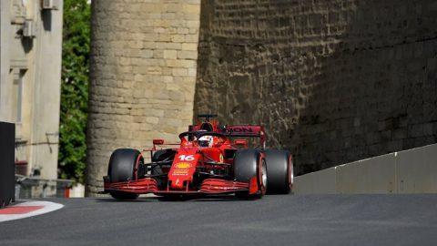 Otro choque le asegura la pole a Leclerc