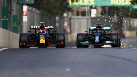 Sergio Pérez ganó con Red Bull
