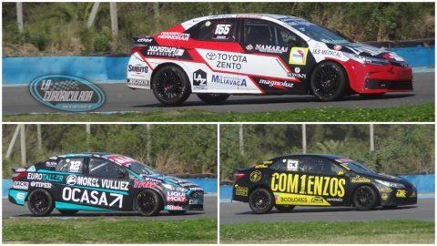 Series diversas y un Toyota en la pole