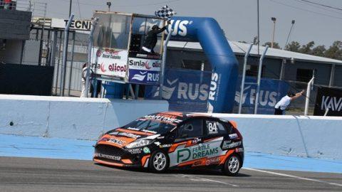 Lucas Yerobi consiguió su segundo triunfo con Ale Bucci Racing
